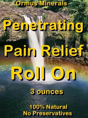 Ormus Minerals -Penetrating Pain Relief Roll On